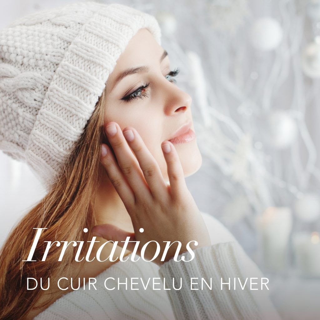 En hiver notre cuir chevelu est mis à rude épreuve, retrouvez tous nos conseils pour adapter votre routine et soulager les irritations du cuir chevelu.